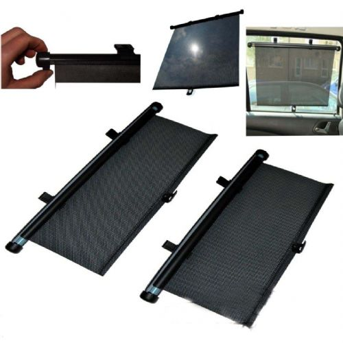 Car Vehicle Window Sun Shade Roller Blind Screen 45cm Protector Sun Visor Baby
